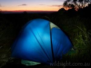 Camping at Djibalara