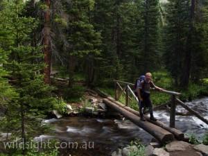 Crossing Middle Boulder Creek