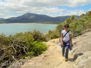 Hiking around Norman Point