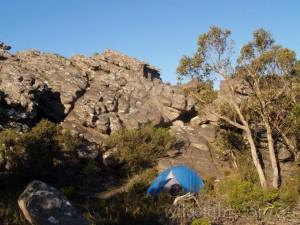 Grampians bush campsite