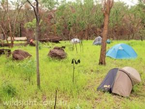 Kakadu campsite