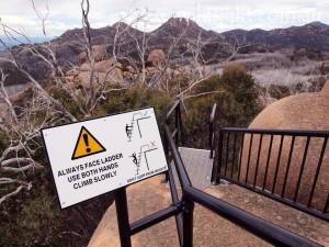 Sign at Mount Dunn