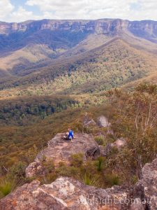 Mount Solitary, track, Blue Mountains