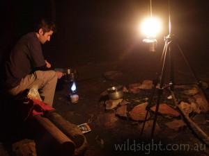 Campsite at Ogma Saddle