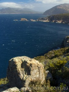 View from Cape Tourville towards Wineglass Bay