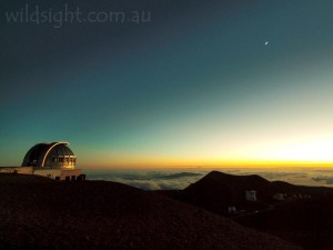 Last light on Mauna Kea