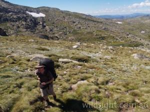 Climbing Mount Twynam
