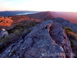 Mount Gar (Mt Difficult) at sunset
