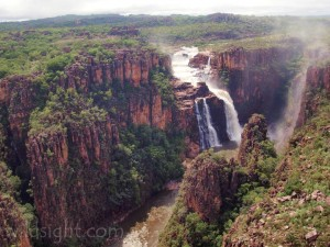 Twin Falls in the wet season, Kakadu National Park