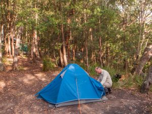 Blue Mountains, camp, tent, Ruined Castle