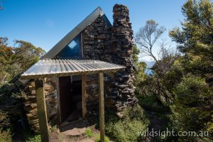 High Camp Hut on Mount Anne track, South-West National Park Tasmania