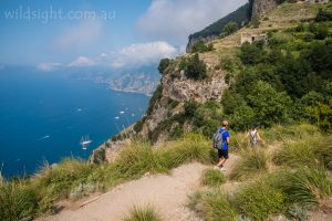 Path of the Gods walking track, Amalfi Coast, Italy