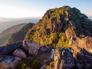 Mount Cobbler at sunset