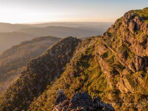 Mount Cobbler sunset, Alpine National Park Victoria