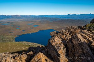 Lake Will from Barn Bluff, Cradle Mountain-Lake St Clair National Park Tasmania