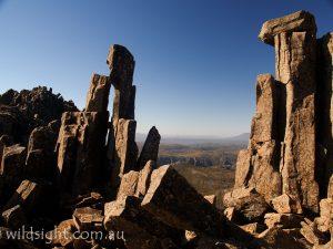 Near Cradle Mountain summit, Tasmania