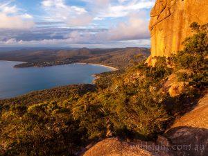 Coles Bay from Mount Amos, Freycinet National Park Tasmania